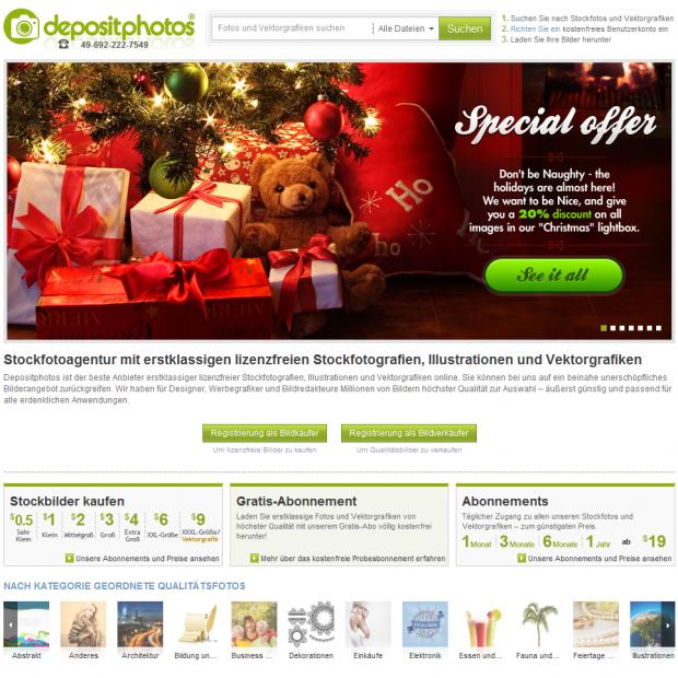 Stockfoto-Anbieter depositphotos im Test (Sponsored)